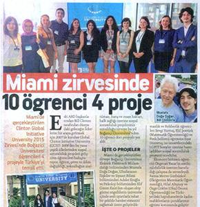 BOUNav Hurriyet newspaper